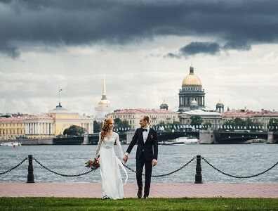 Marriage in St. Peterburg Russia with Russian woman